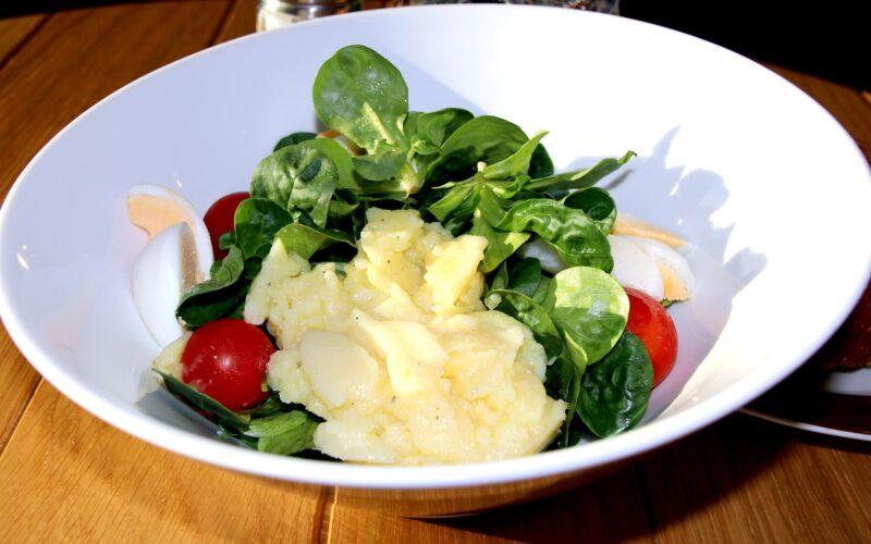 Falscher Kartoffelsalat schnelles Rezept