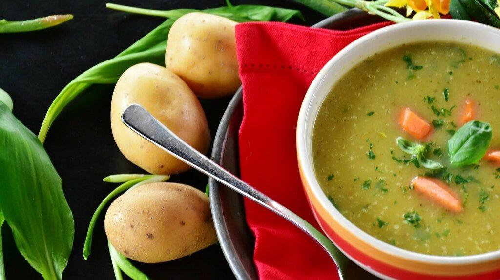 deftige Kartoffelsuppe einfaches Rezept